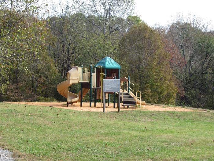 Smith Ridge Campground PlaygroundCampground playground located in B-Loop