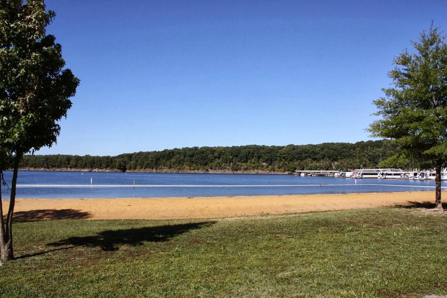 Holmes Bend BeachBeach located near the marina, about 1 mile from the campground
