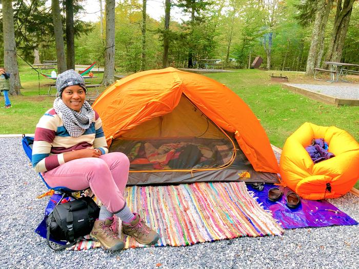 Happy CamperBALSAM MOUNTAIN CAMPGROUND