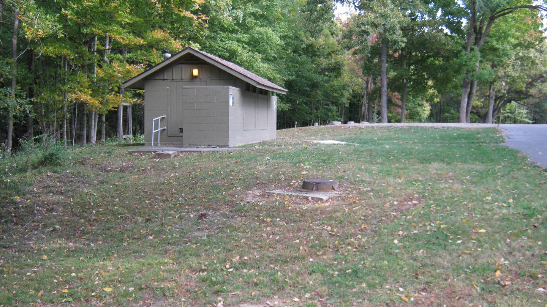 Site 16 Close to Bathroom