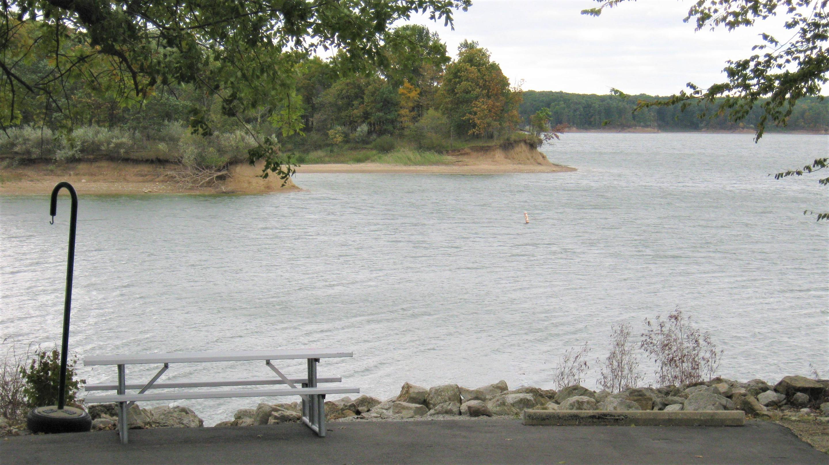 Site 58 Fall 2019View of Lake from Site 58 Fall 2019