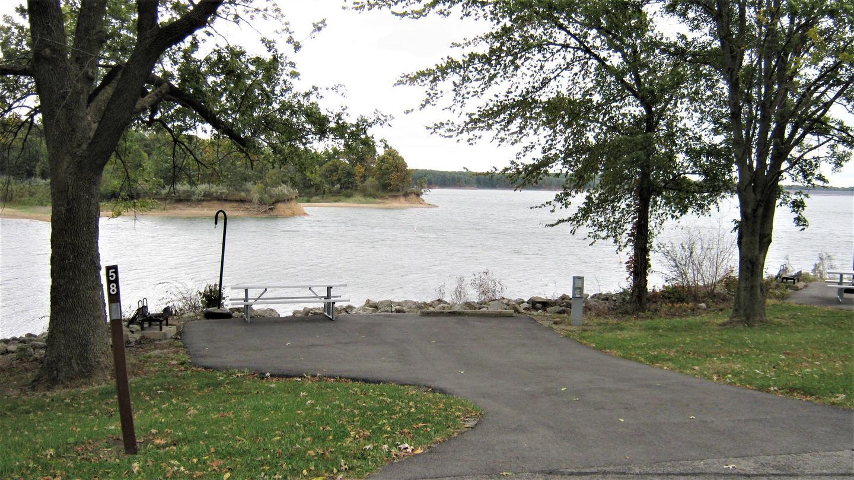 Site 58 Driveway Fall 2019