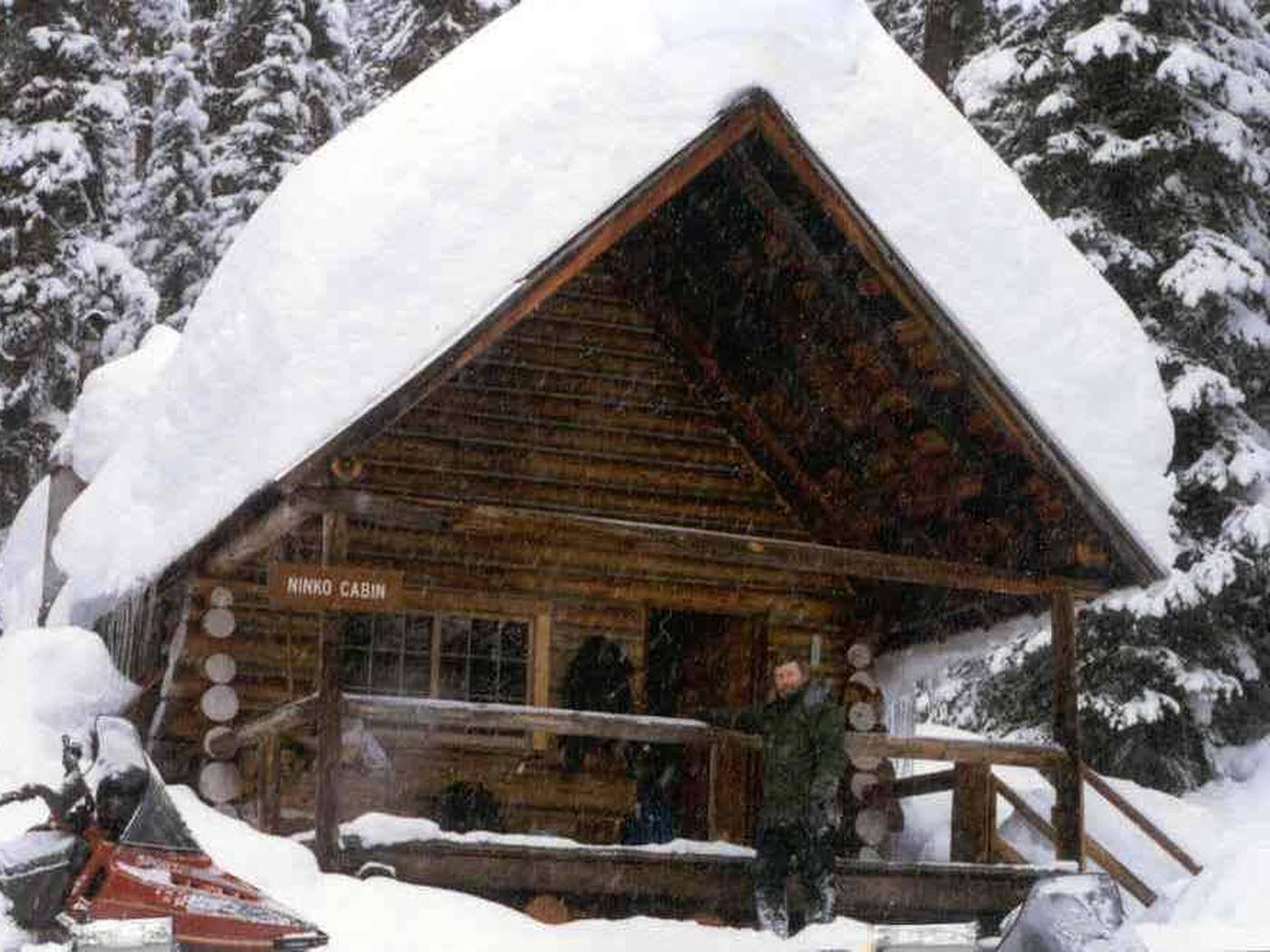 Winter at NinkoNinko Cabin