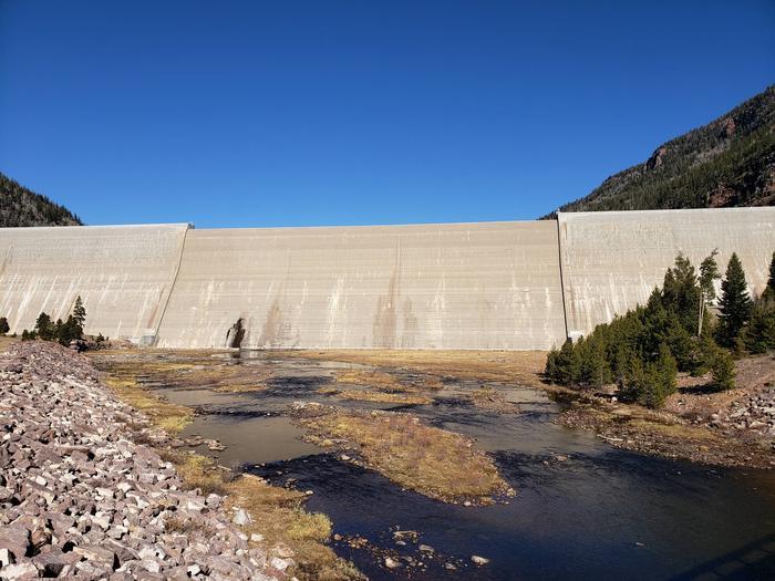 Upper Stillwater Reservior DamRolled Concrete Gravity Dam