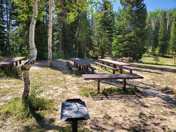 Lake Canyon Campground -  Lake Canyon Group Site B Lake Canyon Campground - Lake Canyon B