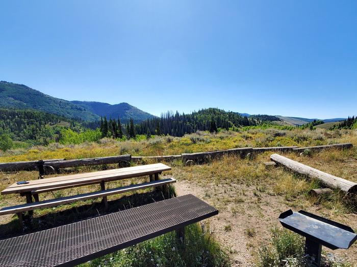 Lake Canyon Campground - Rolfson Group Site C