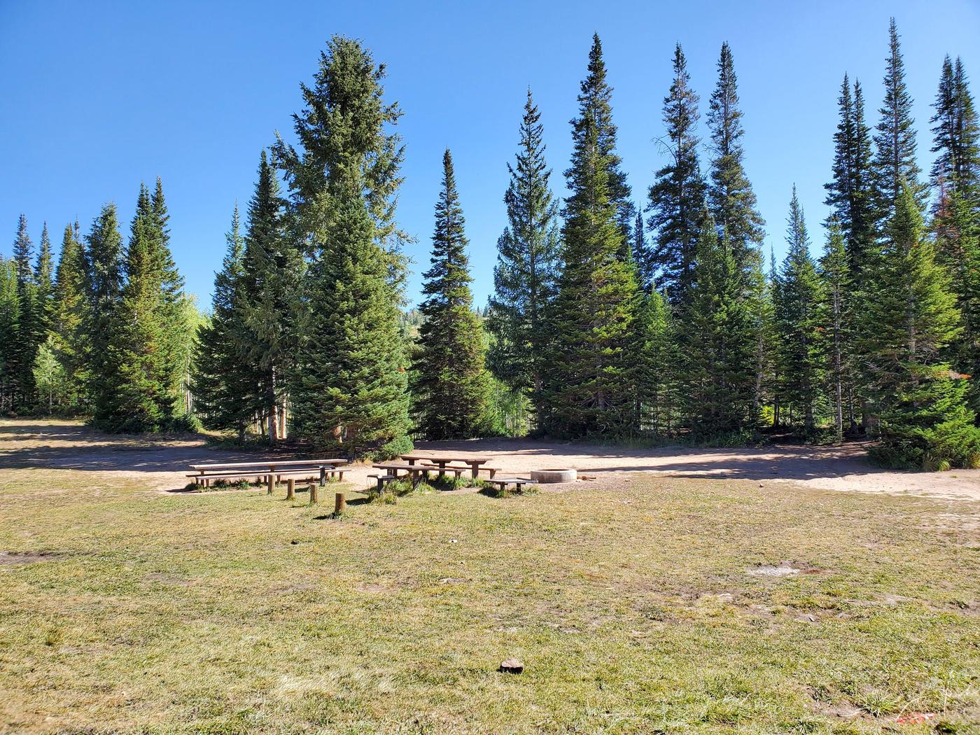 Lake Canyon Campground -  Rolfson Group Site BLake Canyon Campground - Rolfson Group Site B
