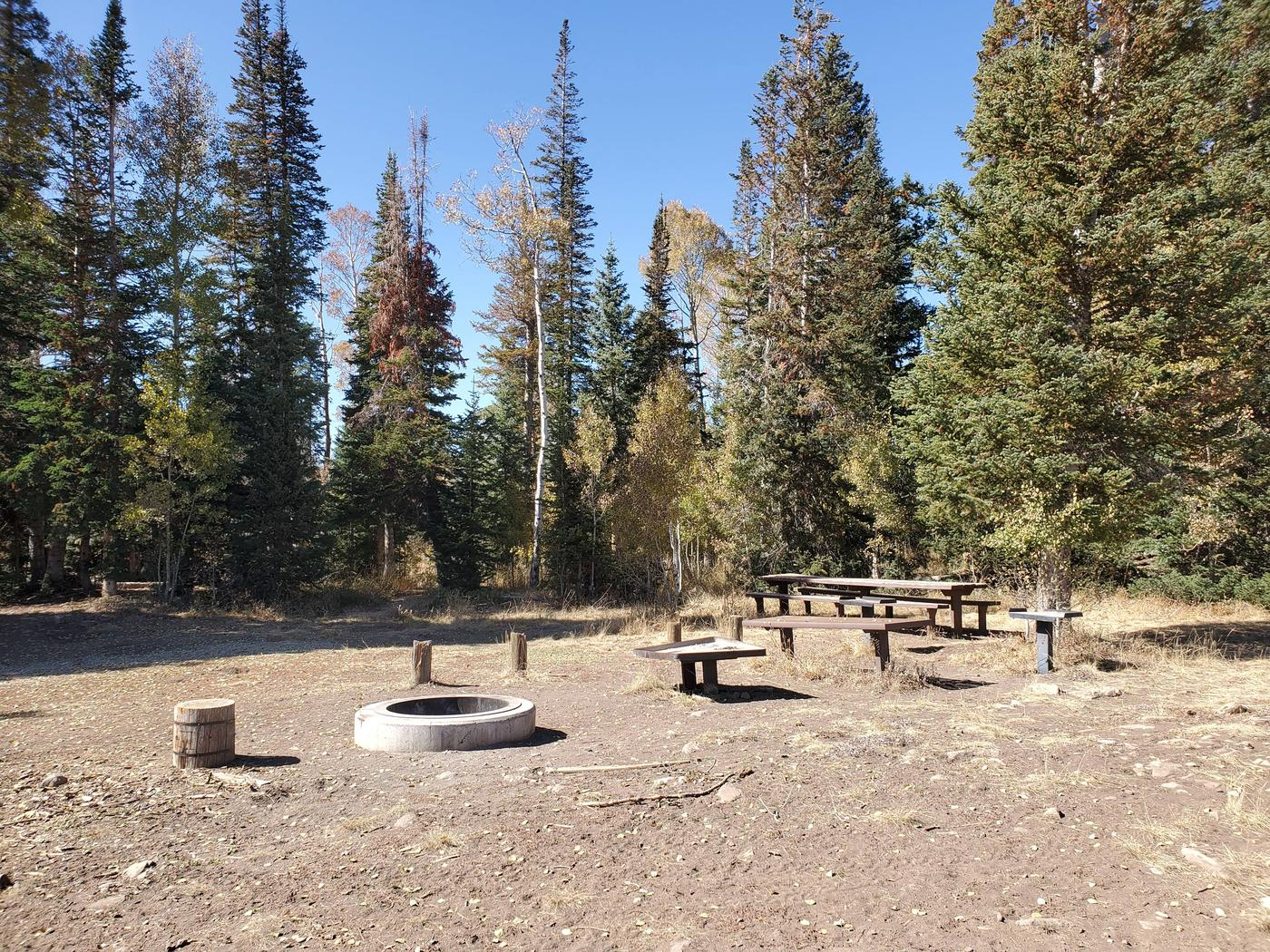 Lake Canyon Campground -  Millers Flat Group Site  ALake Canyon Campground - Millers Flat Group Site A