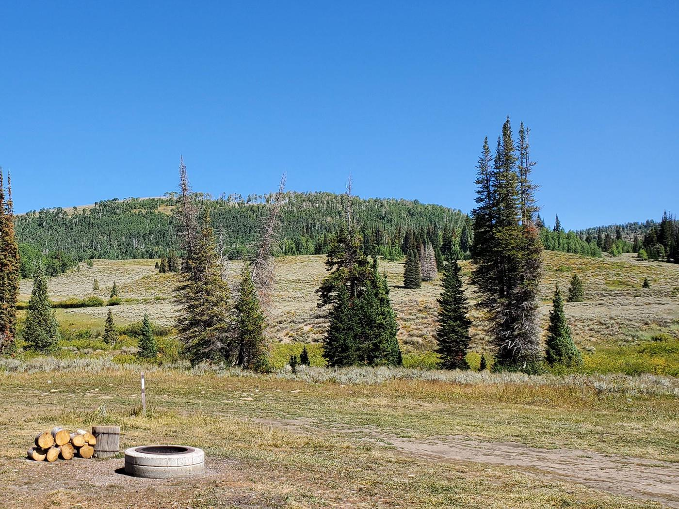 Lake Canyon Campground - Site 18