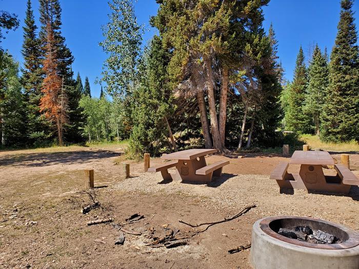 Lake Canyon Campground -  Site 11Lake Canyon Campground - Site 11