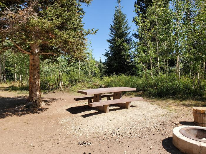 Lake Canyon Campground -  Site 12Lake Canyon Campground - Site 12