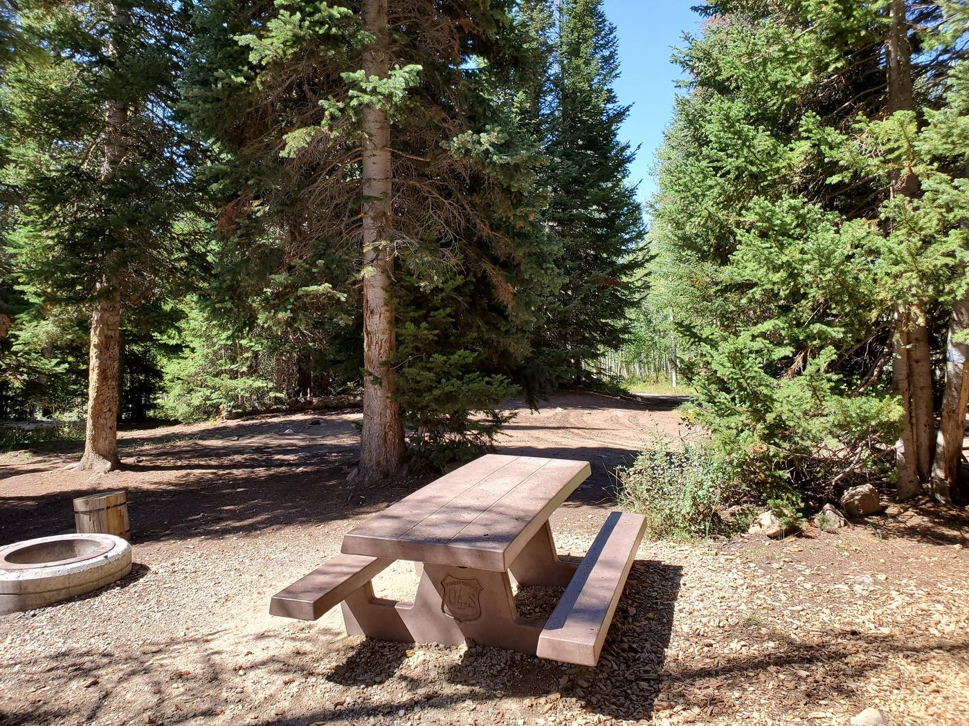 Lake Canyon Campground - Site 13