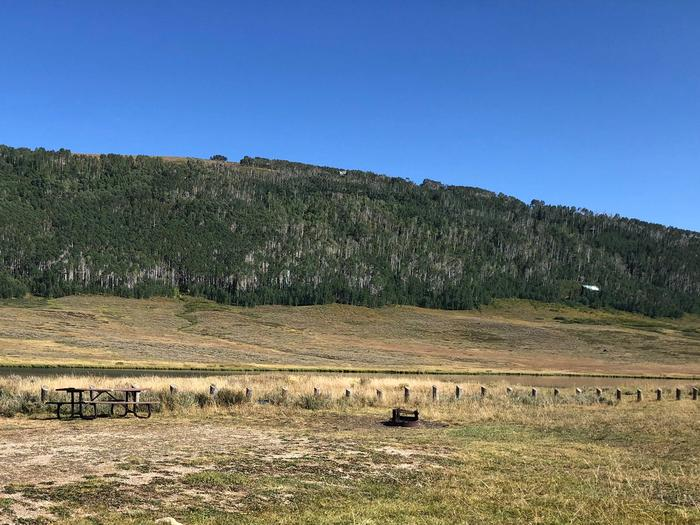 Gooseberry Reservoir Campground - Site 1