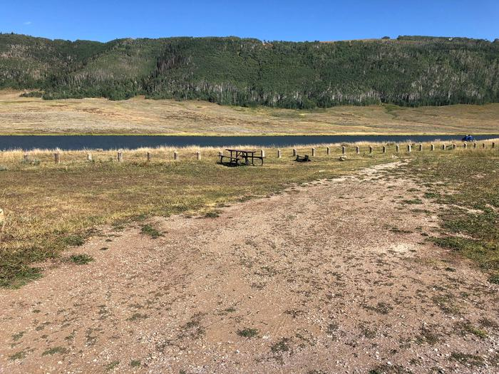 Gooseberry Reservoir Campground - Site 4