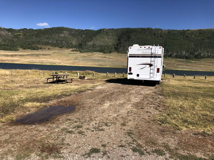 Gooseberry Reservoir Campground - Site 7