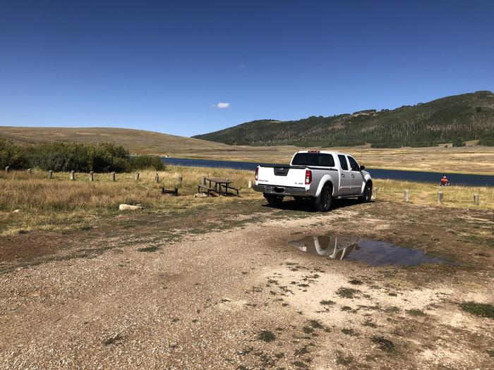 Gooseberry Reservoir Campground - Site 8