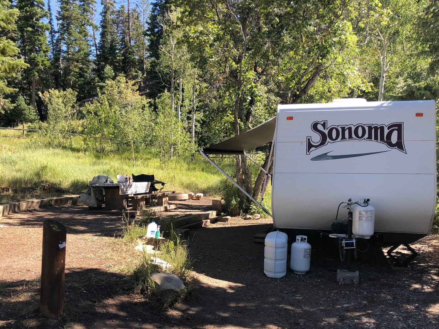 Lake Hill Campground - Site 2