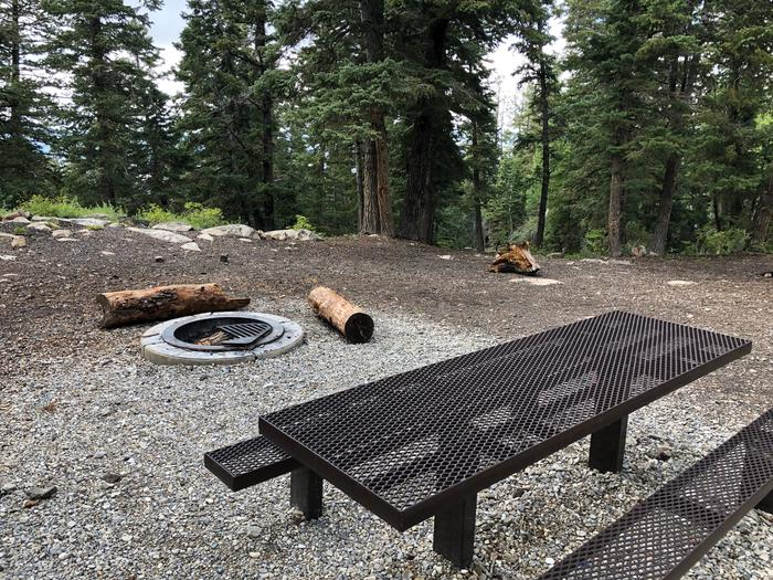 Lake Hill Campground  -  Site 4Lake Hill Campground - Site 4