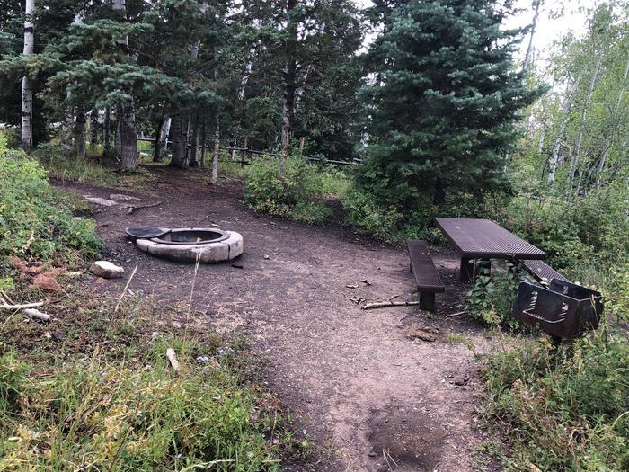 Lake Hill Campground  - Site 9Lake Hill Campground - Site 9