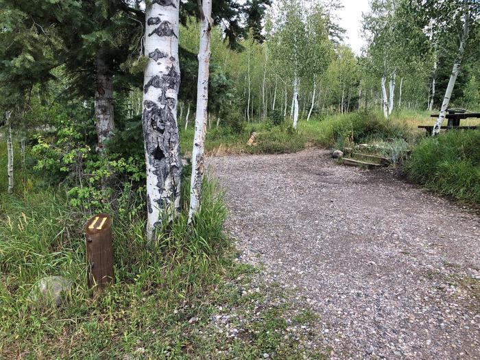 Lake Hill Campground  - Site 11Lake Hill Campground - Site 11
