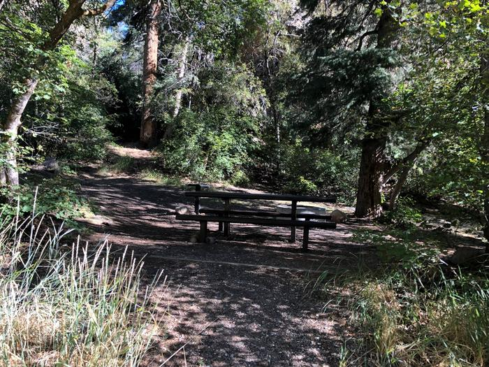 Maple Canyon Campground -  Site 2Maple Canyon Campground - Site 2