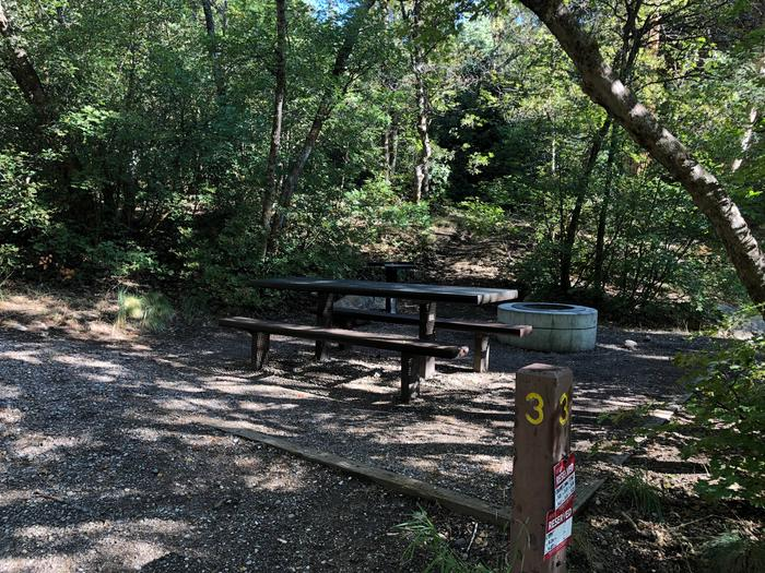 Maple Canyon Campground -  Site 3Maple Canyon Campground - Site 3