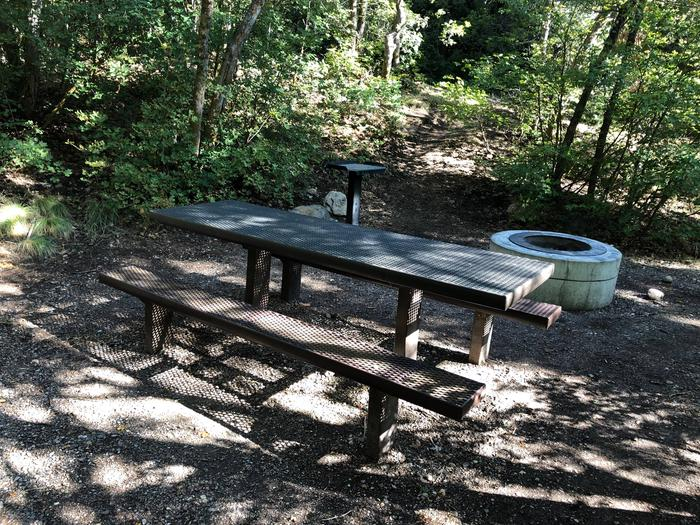 Maple Canyon Campground - Site 3