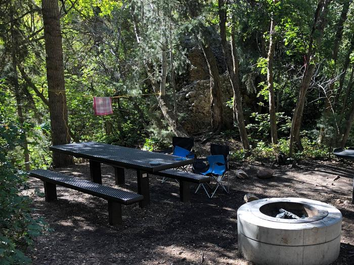 Maple Canyon Campground - Site 6