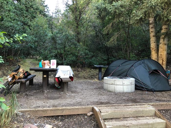 Maple Canyon Campground - Site 7
