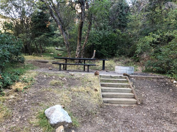 Maple Canyon Campground - Site 8