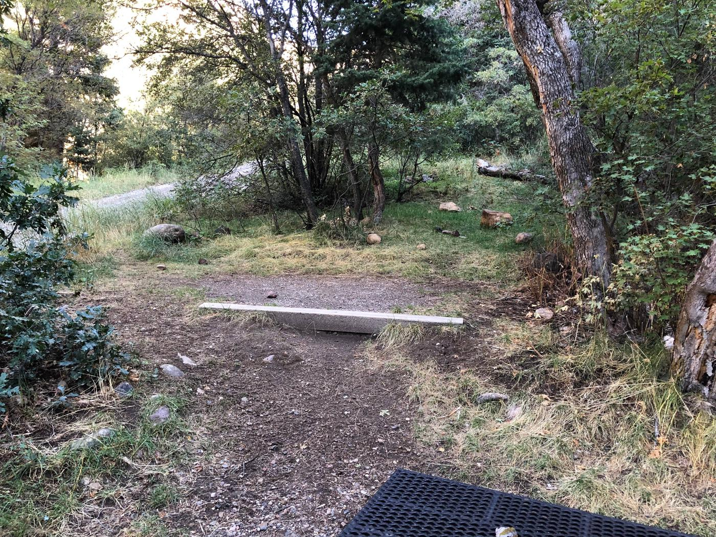 Maple Canyon Campground -  Site 8Maple Canyon Campground - Site 8
