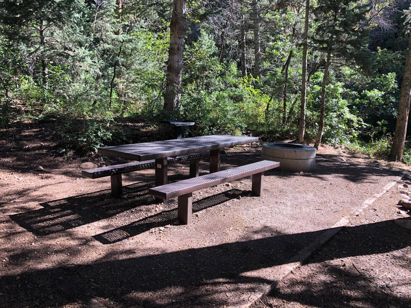 Maple Canyon Campground -  Site 11Maple Canyon Campground - Site 11