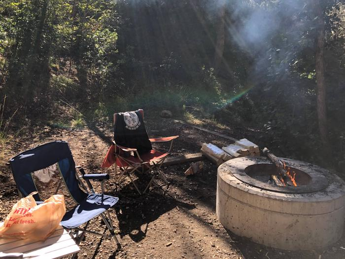 Maple Canyon Campground - Site 13