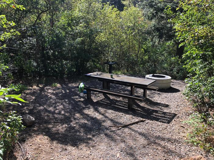 Maple Canyon Campground -  Site 16Maple Canyon Campground - Site 16