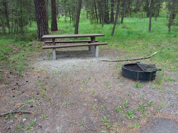 Site 9-tableRexford Bench Site 9