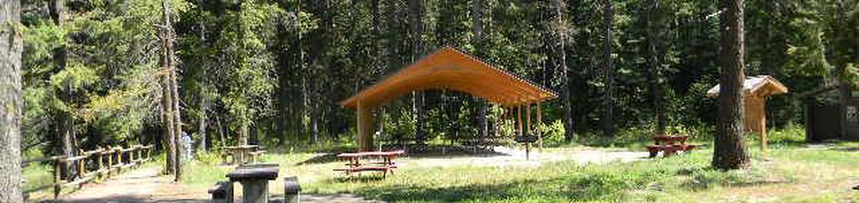BULL RIVER PAVILIONBull River Campground Pavilion