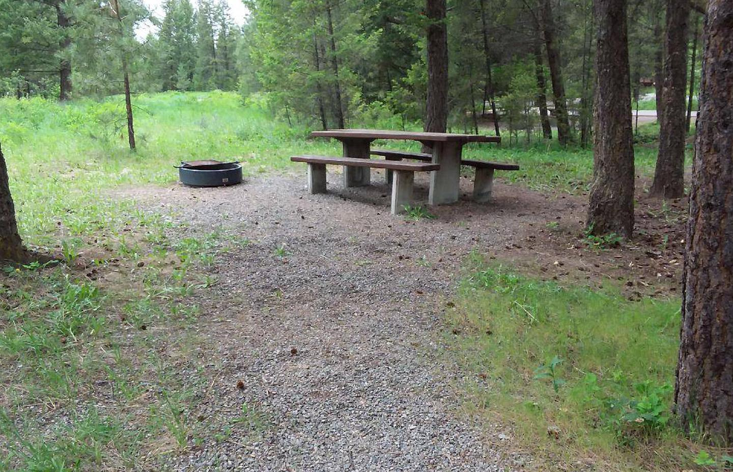 Site 28-tableRexford Bench Site 28