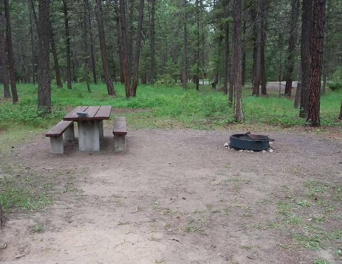 Site 15-tableRexford Bench Site 15