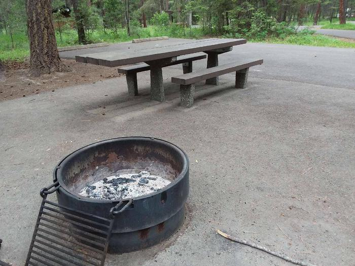 Site 34-fire ringRexford Bench Site 34