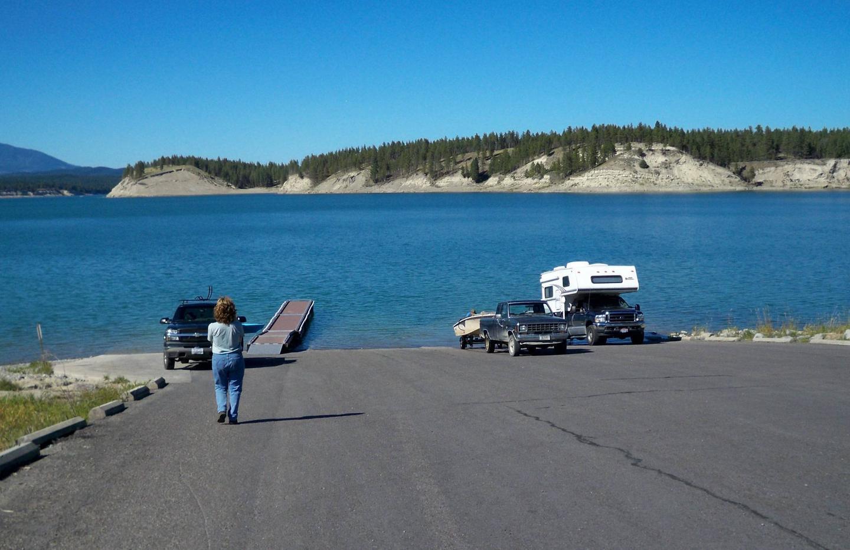 Boat RampRexford Bench Boat Ramp