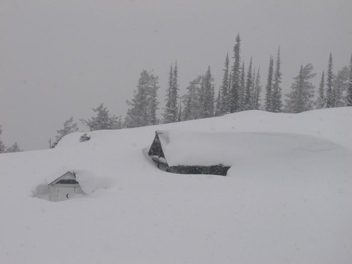 Winter at Garver Lookout