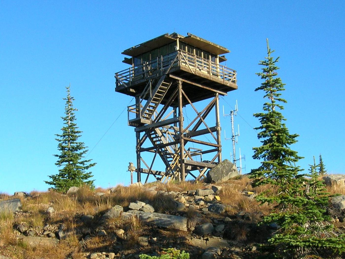 Mt. Baldy-Buckhorn Ridge Lookout