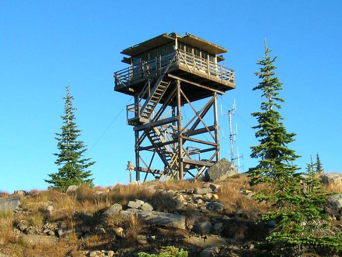 Mt. Baldy-Buckhorn Ridge Lookout