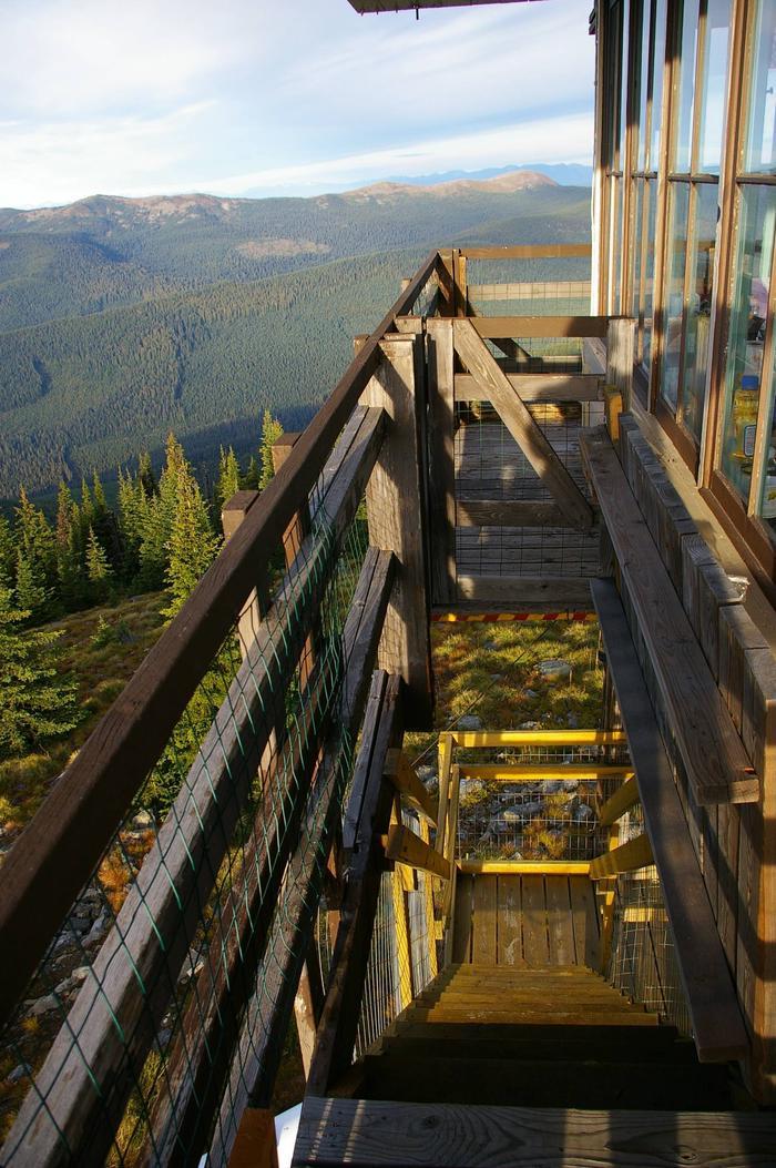 Mt, Baldy-Buckhorn Ridge Lookout