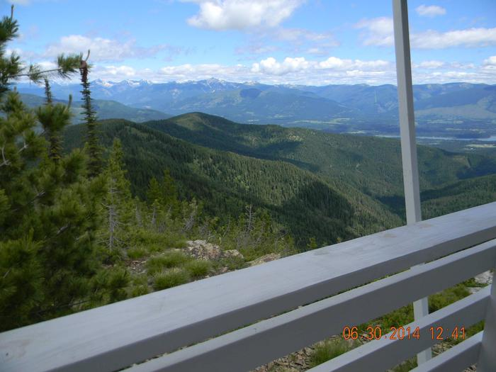 Minton Peak Lookout