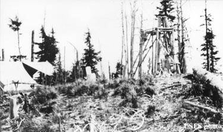 Gem Peak in 1921