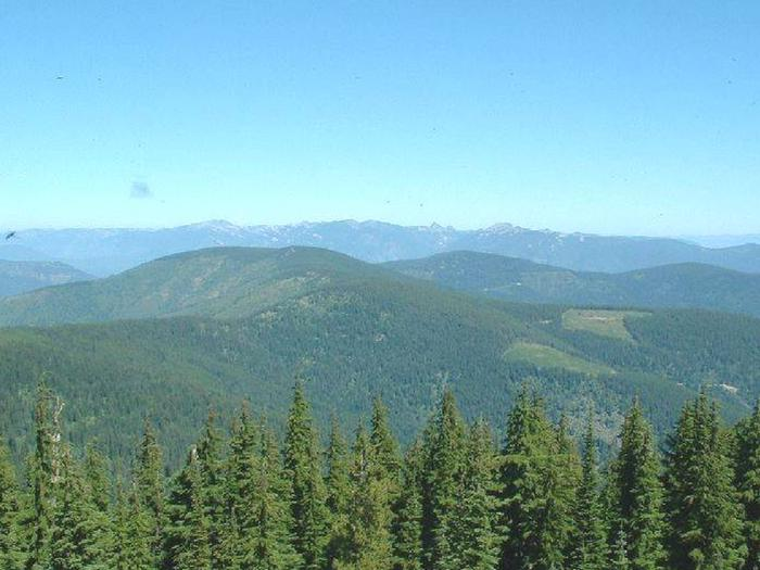 View form Gem Peak