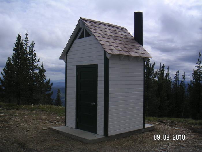 Gem Peak Lookout Vault Toilet