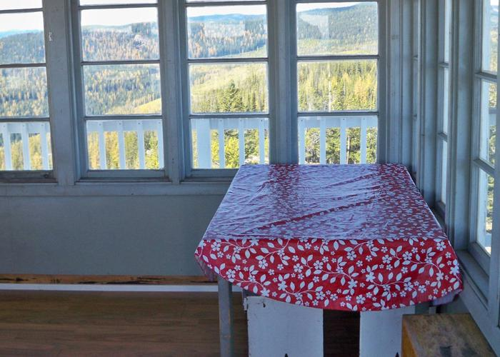 Webb Mountain-table