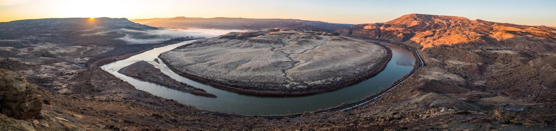 Colorado River through Ruby-Horsethief CanyonSalt Creek Overlook